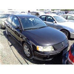 VW PASSAT 2001 T-DONATION