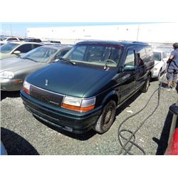 CHRYSLER TOWN & COUNTRY 1993 T-DONATION