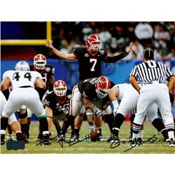 "Fernando Valasco Signed Georgia 8x10 Photo Inscribed ""Go Dawgs!"" (Radtke COA)"