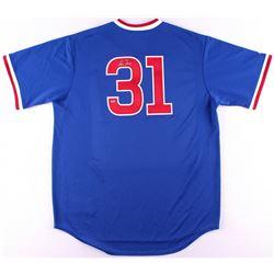 Greg Maddux Signed Cubs Jersey (Schwartz COA)