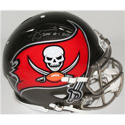 "Jameis Winston Signed LE Buccaneers Full-Size Authentic Proline Speed Helmet Inscribed ""2015 #1 Pick"