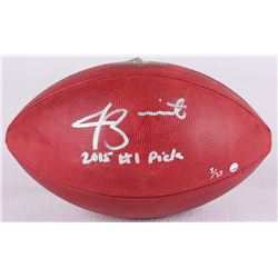 """Jameis Winston Signed NFL Official Game Ball Inscribed """"2015 #1 Pick"""" Limited Edition #1/13 (Steiner"""