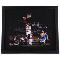 "Kyrie Irving Signed LE Cavaliers ""The Finals"" 22x26 Custom Framed Photo (Panini COA)"