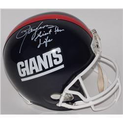 "Lawrence Taylor Signed Giants LE Full-Size Helmet Inscribed ""Giant For Life"" (Radtke COA)"