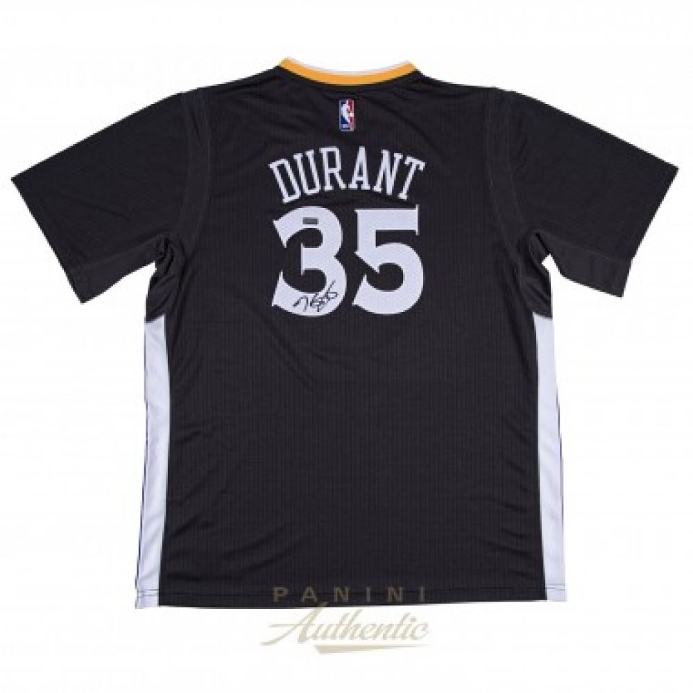 innovative design 2735c f25ec Kevin Durant Signed Warriors Authentic Swingman Jersey ...