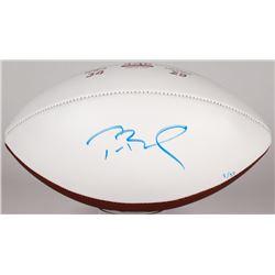 Tom Brady Signed LE Super Bowl 51 Logo Football (TriStar  Steiner COA)