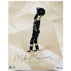 "Mike Modano Signed Stars ""1999 Stanley Cup"" 16x20 Photo (UDA COA)"