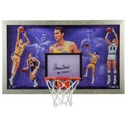 Jerry West Signed LE  Mr. Clutch  30.5x18.5 Acrylic Backboard Display (UDA COA)