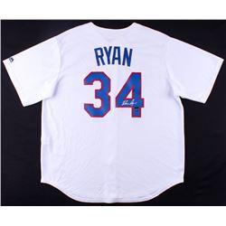 Nolan Ryan Signed Rangers Jersey (FSC COA  Nolan Ryan Hologram)