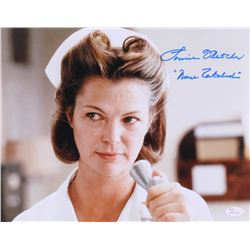 Louise Fletcher Signed  One Flew Over the Cuckoo's Nest  11x16 Photo Inscribed  Nurse Ratched  (JSA