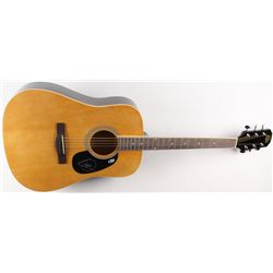 Barry Gibb Signed Full-Size Rogue Acoustic Guitar (Beckett Hologram)