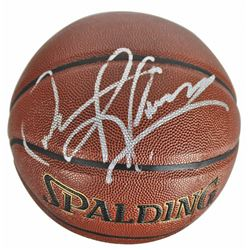Dennis Rodman Signed Basketball (Beckett COA)