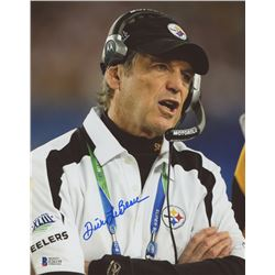Dick LeBeau Signed Steelers 8x10 Photo (Beckett COA)