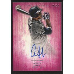 2014 Bowman Inception Prospect Autographs Pink #PAAJ Aaron Judge