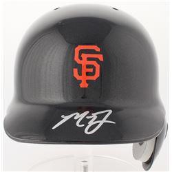 Madison Bumgarner Signed Giants Full-Size Batting Helmet  (Beckett Hologram)