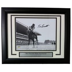 Ron Turcotte Signed 11x14 Custom Framed Photo (SI COA)