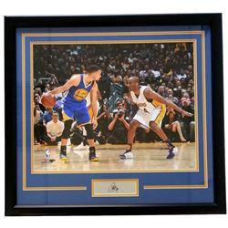 Stephen Curry Warriors 22x27 Custom Framed Photo Display