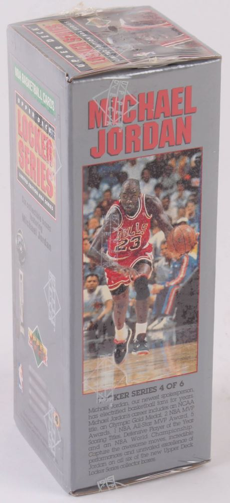 finest selection cf1f7 599c6 Image 1   1991 Upper Deck NBA Michael Jordan Locker Series Unopened Box  with (7
