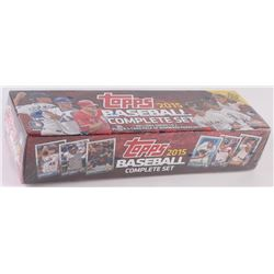 2015 Topps Unopened Complete Set of (700) Baseball Cards