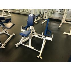 HAMMER STRENGTH WHITE / BLUE SEATED ROW