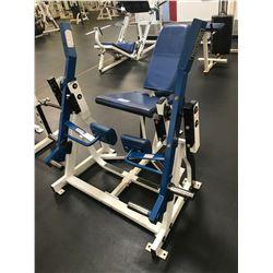 HAMMER STRENGTH WHITE / BLUE SEATED LEG TENSION