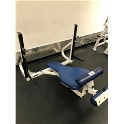 CYBEX WHITE / BLUE INVERTED BENCH PRESS