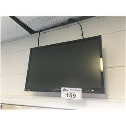 3 SMALL LCD TVS ON WALL