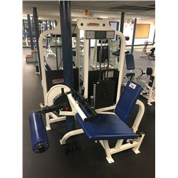 LIFE FITNESS STRENGTH SEATED LEG CURL WEIGHT MACHINE