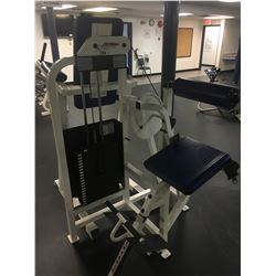 LIFE FITNESS STRENGTH LOW BACK EXTENSION WEIGHT MACHINE