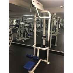 LIFE FITNESS STRENGTH LAT PULLDOWN WEIGHT MACHINE