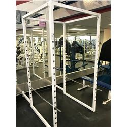 PARAMOUNT WHITE / BLUE SQUAT RACK