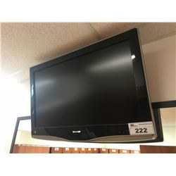 "SHARP 32"" LCD TELEVISION WITH WALL MOUNT"