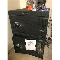 DUAL COMPARTMENT JEWELER'S GRADE COMMERCIAL COMBINATION SAFE