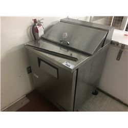 TRUE STAINLESS STEEL REFRIGERATED PREP TABLE (NOT WORKING)