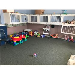 CONTENTS OF NURSERY: GAMES, TOYS, FURNITURE & BOOKS