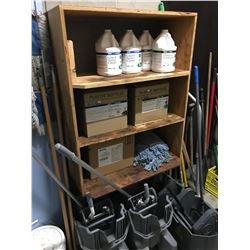 ASSORTED JANITORIAL SUPPLIES