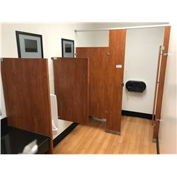 FAUX WOOD DIVIDERS & BATHROOM STALLS