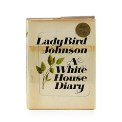 Signed Copy of A White House Diary by Lady Bird Johnson