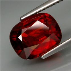 Natural Red Spessartite Garnet 5.48 Carats