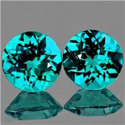 Natural Green Blue Apatite Pair 3.10 Carats - VVS