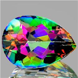 Natural Mystic Topaz 7.41 cts - Flawless