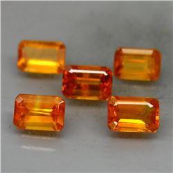 Natural Golden Yellow Sapphire Africa 4.19 Ct.