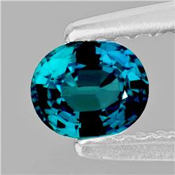 Natural Greenish Blue Madagascar Sapphire Flawless