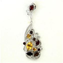 Stunning Natural Garnet Pendant