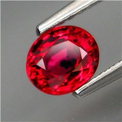 Natural Imperial Rare Red Sapphire 1.02 Ct