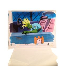 Filmation Studios Savage Dragon Animation Cel