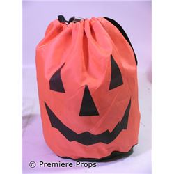 Halloween 2 Set Decoration Jack-o-Lantern Bag of Hay Movie Props