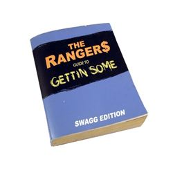 "School Dance :""Rangers Guide"" Book Movie Props"
