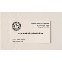 Prisoners Captain O'Malley (Wayne Duvall) Movie Props