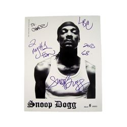 Snoop Dogg signed photo